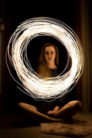 Sesja zdjęciowa ze światełkami Emilka
