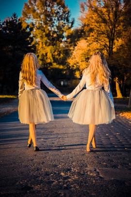 Siostrzana sesja Emilia i Sylwia
