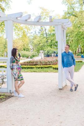 Sesja ciążowa Justyna & Mateusz
