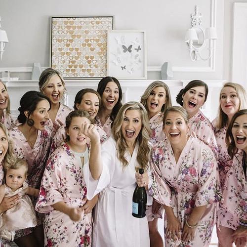 The lovely wedding party_HMU__Jenny , Al