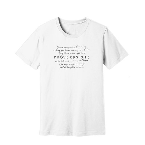 I am Proverbs 3:15