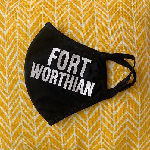 Fort Worthian Face Mask