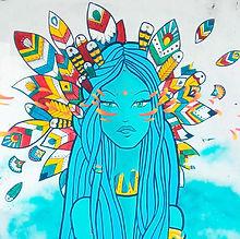 LA petite fille bleue