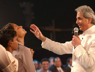 HAVING CONFESSED, SHOULD BENNY HINN GIVE HIS WEALTH TO CHARITY?