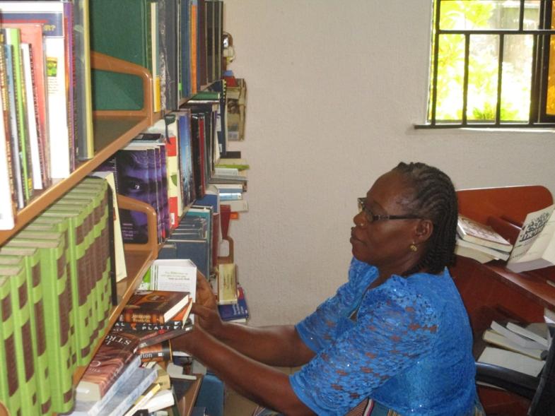 The LEMA Librarian - Mrs Nkechi Ofoegbu