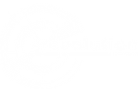 the revolution circle logo white
