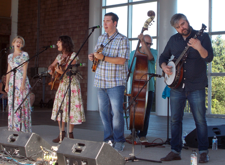 Irene Kelley shines at OBX Bluegrass Fest (via Neel Keller | Outer Banks Sentinel)