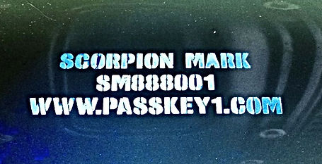Scorpion Mark UV Parts Marking