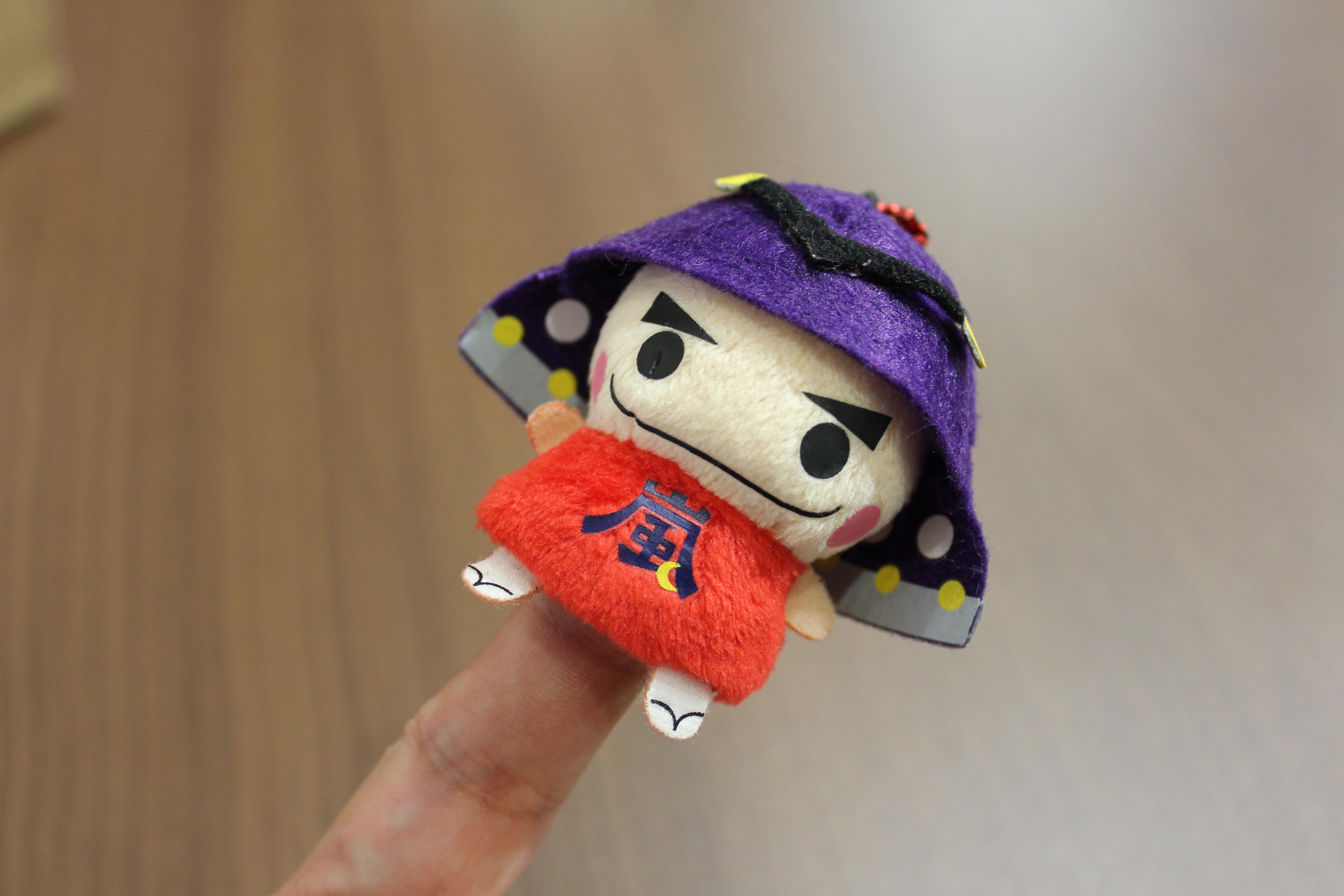 ふわふわ指人形