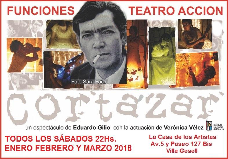 Julio Cortázar, Verónica Vélez, Eduardo Gilio