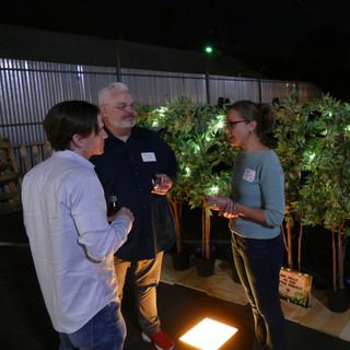 Fireflies demo