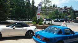 Btfl. Mazda Miatas at Chateaux
