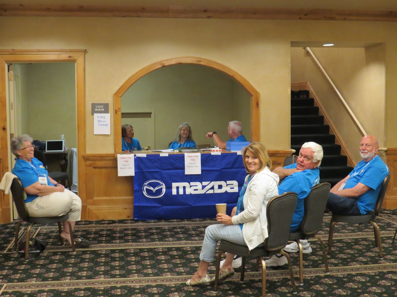 NA Mazda and registration