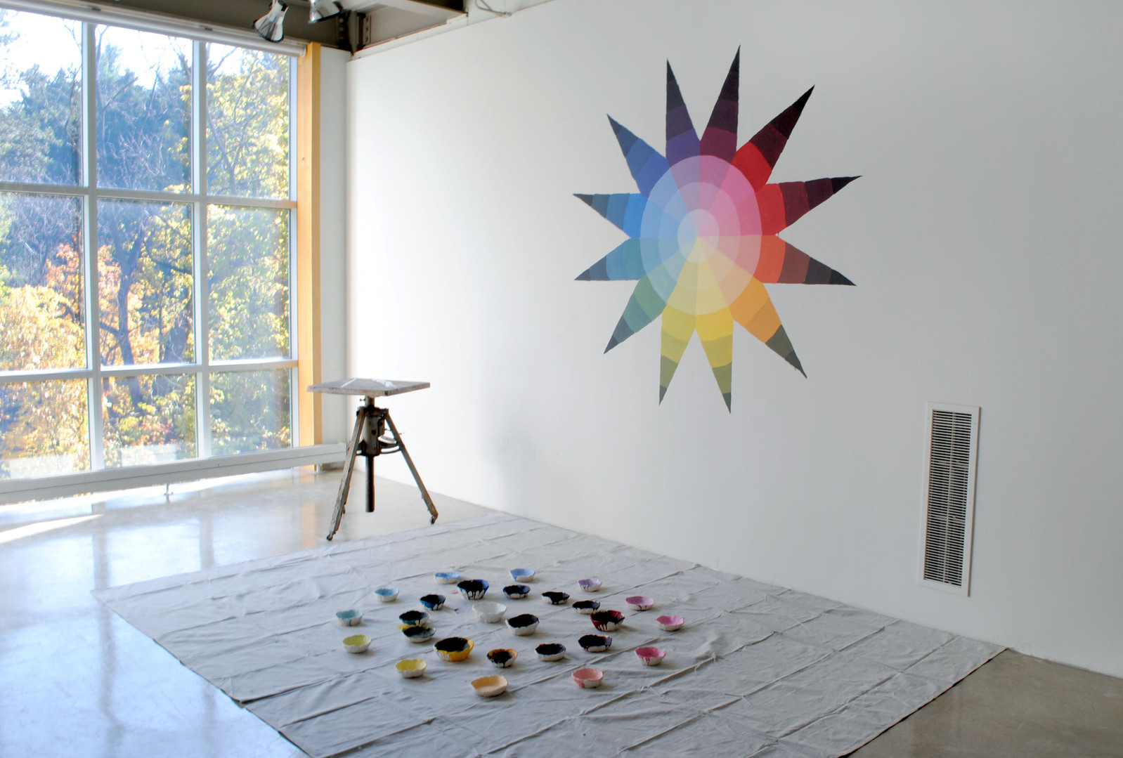 The Color Wheel of Johannes Itten