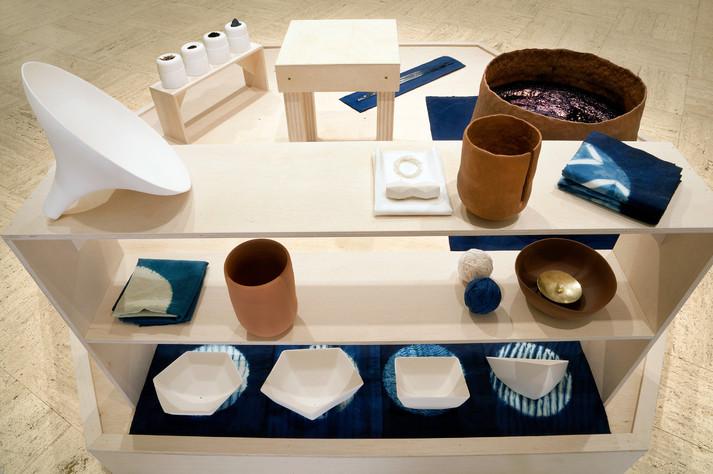 A Setting for Rituals Involving Indigo