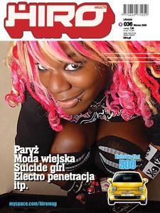 Hiro Magazine Cover