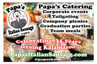 Papa's Catering Flyer
