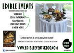 Edible Events Postcard Design