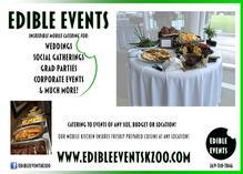 Edible Events Flyer
