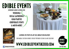 Edible Events Flyer