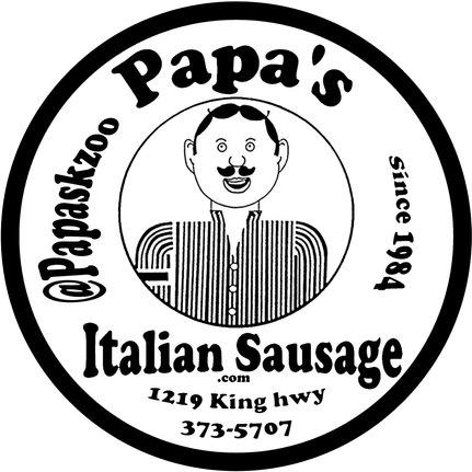 Papa's Social Media Sticker