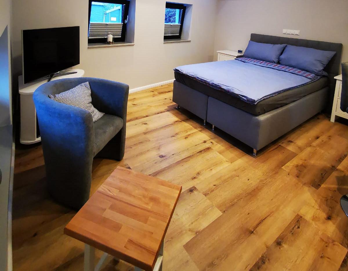 Wohn- und Schlafbereich
