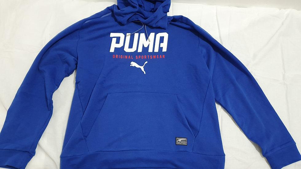 Puma Style Tec Hoodie True Blue