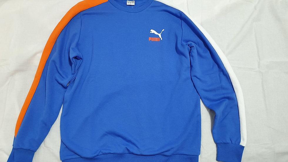 Puma Classics T7 Logo Crew TR Strong Blue
