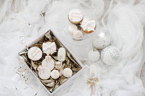 Sparkling White Christmas Box