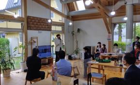 サイト工業さんのショールームでケアブレンドカフェを開催しました!