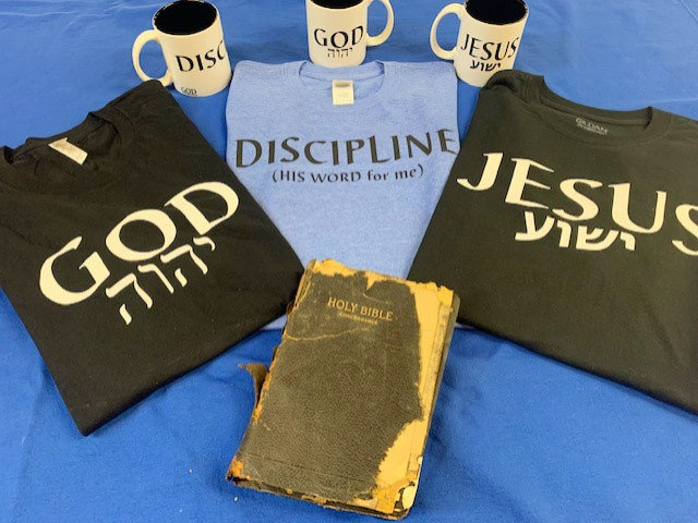 Shirt and Mug GOD Line