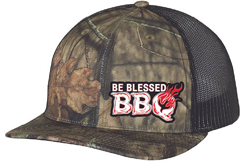 BE BLESSED CAP - Mossy Oak Country - Black