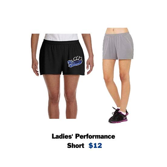 Ladies Performance Shorts