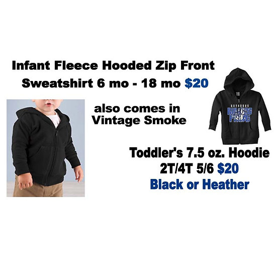 Broaddus Infant/Toddler Hoodie