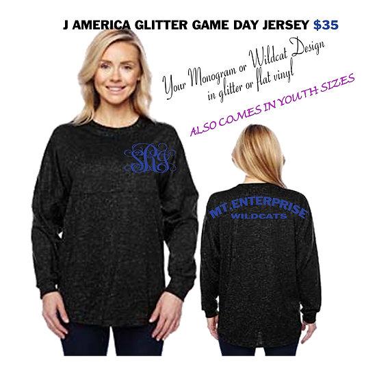 Wildcat Glitter Game Day Jersey