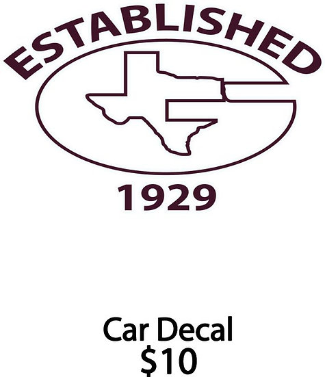 Garrison Car Decal