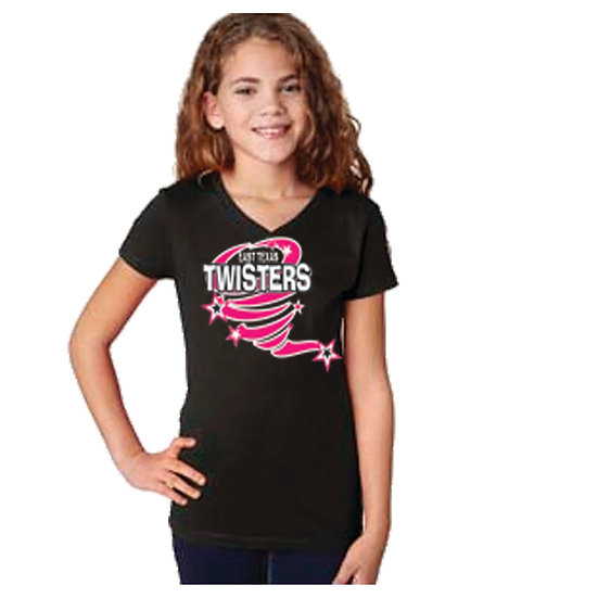 ETX Twisters Youth V-Neck T-shirt