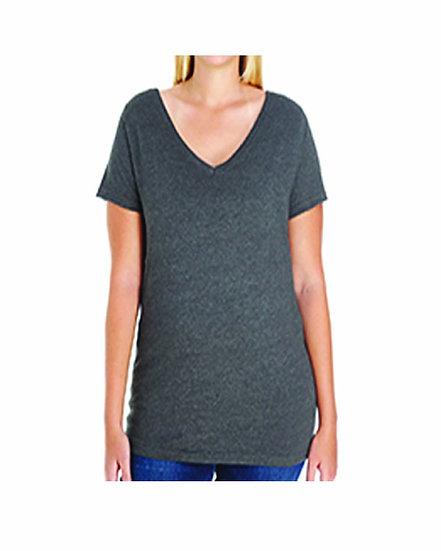 Broaddus Curvy V-Neck T-shirt