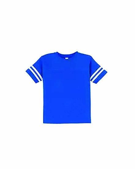 Royal  Toddler Football Jersey