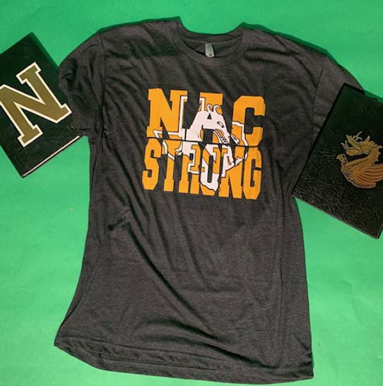 NAC Strong - 2 Color - Athletic Gold and White