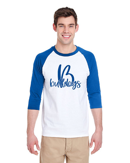 Royal and White Baseball Jersey