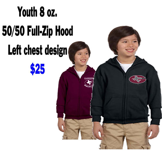 Youth Zippered Hoodie
