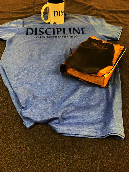 DISCIPLINE Shirt from the His Word for Me Collection