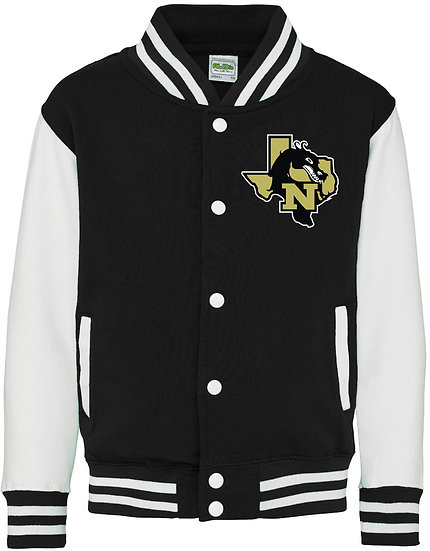 Just Hoods Youth 80/20 Heavyweight Letterman Jacket