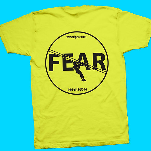 Zip Nac T-Shirt Stacked w/ No Fear Back in Black