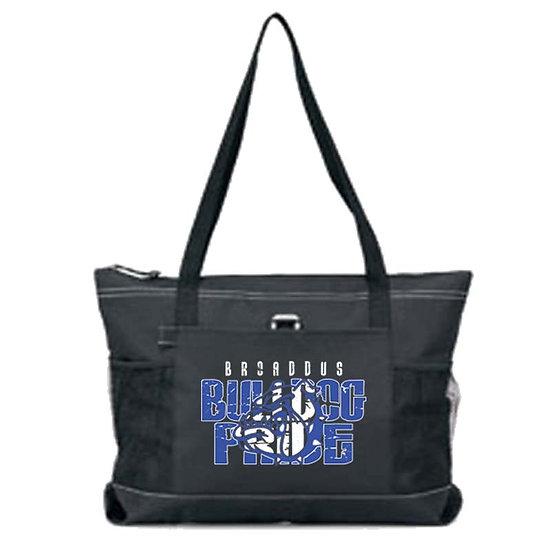 Broaddus Zippered Tote Bag