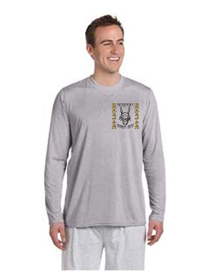 NHS Band Long Sleeve T-Shirt - Grey