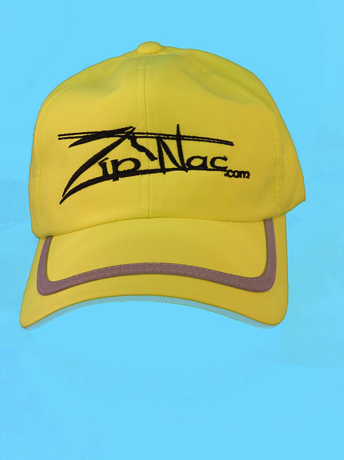 Zip Nac Hat with Reflective Stripe