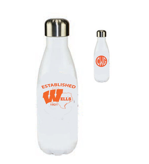 Water Bottle - Tapered Stainless Steel