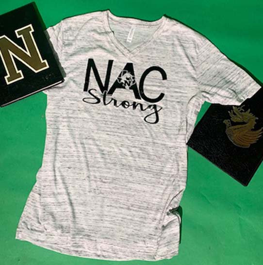 NAC Strong - 1 Color - Glossy Black Design